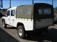 2002 White Defender 130 Dual Cab Tray Back Utility central locking air conditioned power steering snorkel canvas canopy low kms & 2002 Defender TD5 130 Dual Cab Ute Style Side - SOLD - British Off ...