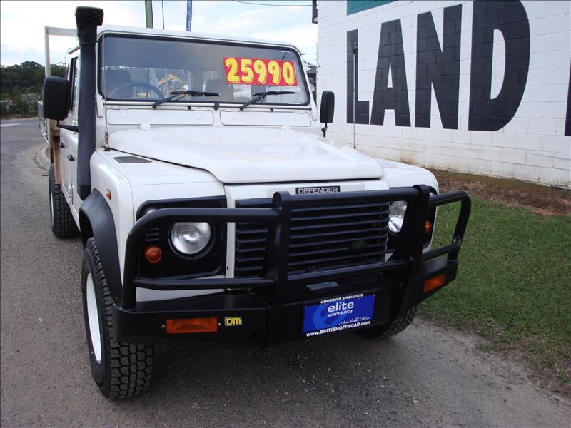 2002 Defender Td5 130 Dual Cab Ute Sold British Off Road
