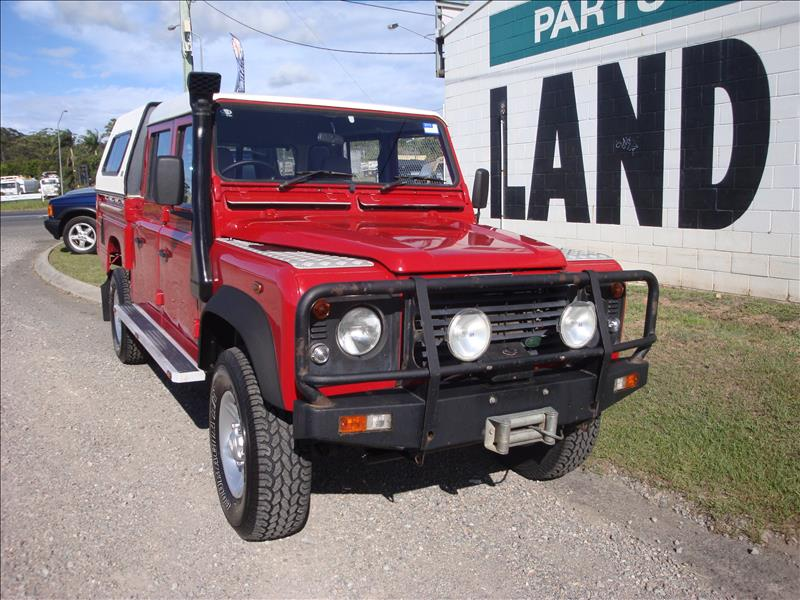 1999 Land Rover Defender Td5 130 Dual Cab Utility Sold