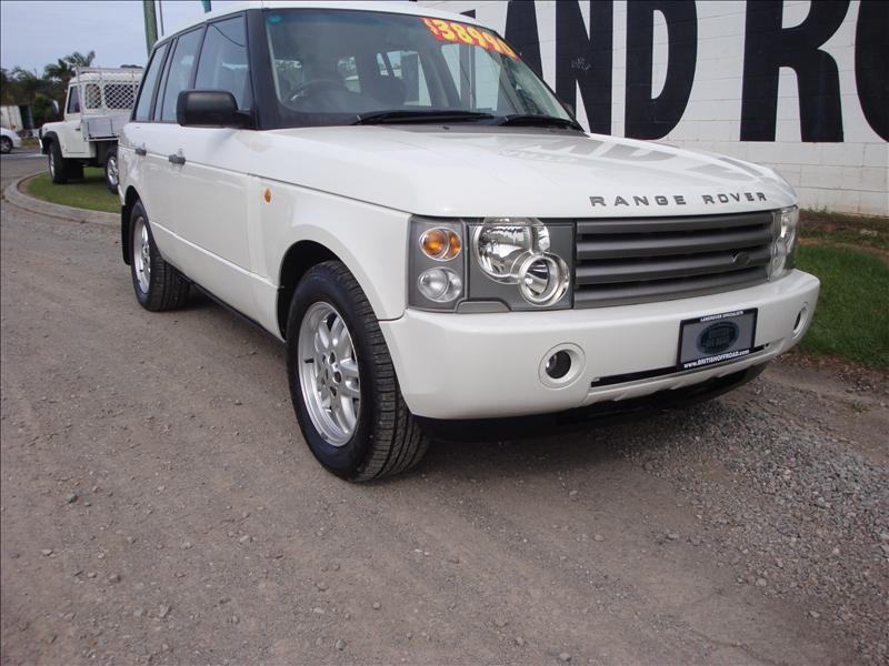 2003 white hse l322 3 0 ltr turbo range rover sold british off road. Black Bedroom Furniture Sets. Home Design Ideas