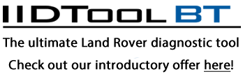 IIDTool BT Bluetooth (TFIIDBT) The ultimate Land Rover diagnostic tool for the enthusiast offering functionality previously only available in equipment many times more expensive.