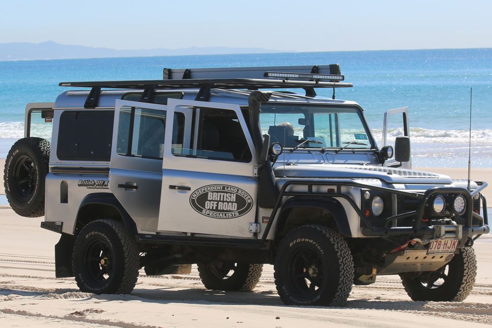 British Off Road's Terrafirma Equiped Land Rover Discovery