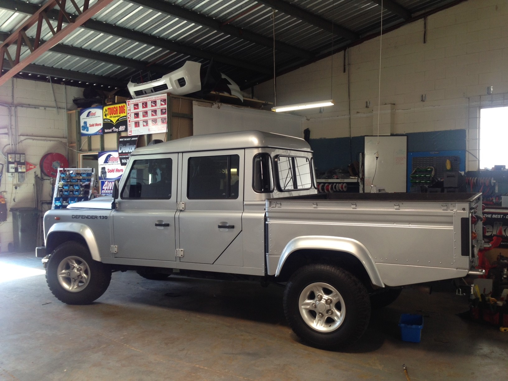 The Australian Bushman Land Rover Defender before the British Off Road treatment