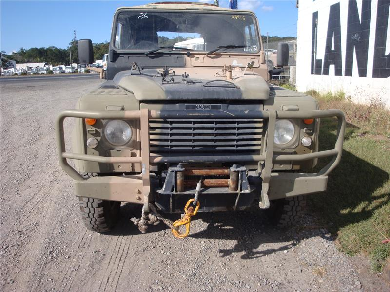 Army Perentie - PTO winch complete with everything