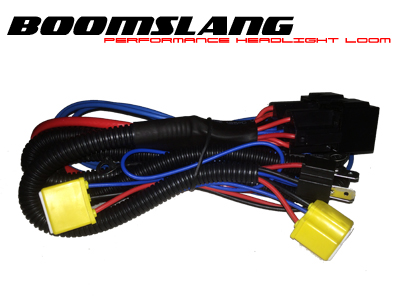 Red Bison Boomslang - H4 High Performance Headlight Loom