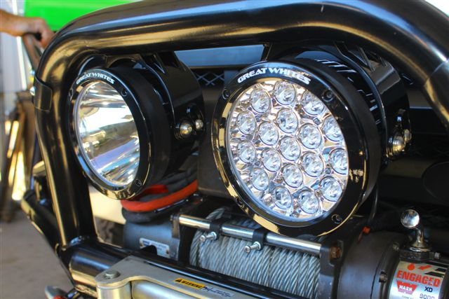 Great Whites: Brighter, Safer, Smarter, Tougher LED lights