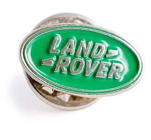 Land Rover Logo Pin Badge