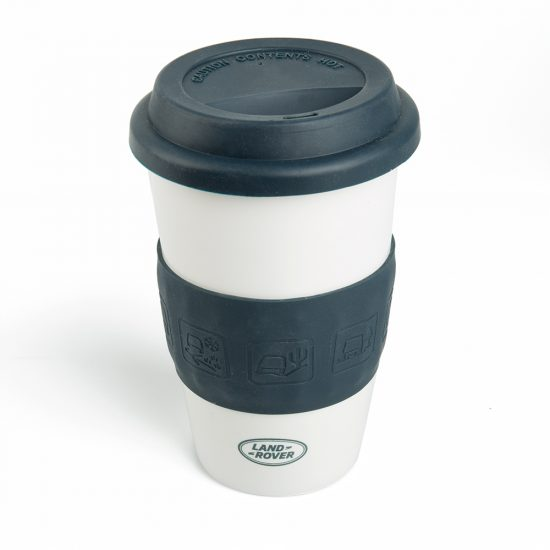 Land Rover Navy Travel Ceramic Mug