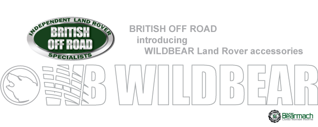 Wildbear Land Rover Accessories